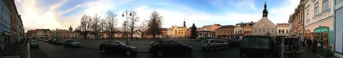 Marktplatz Hohenmauth Panorama